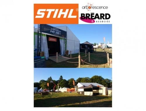 STIHL – Salon EUROFOREST 2018 – pour Bréard & associée