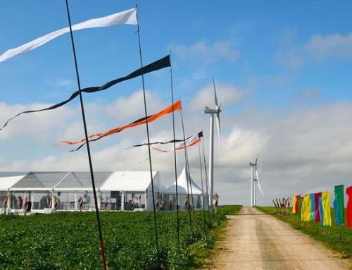 Granit Communication inaugure le nouveau parc éolien ENGIE Green