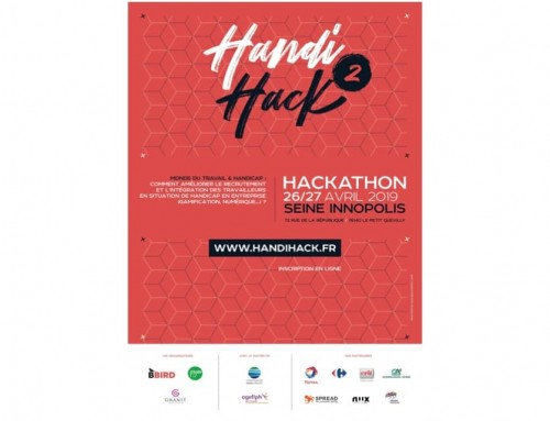 HandiHack 2019 – Organisation d'un hackathon