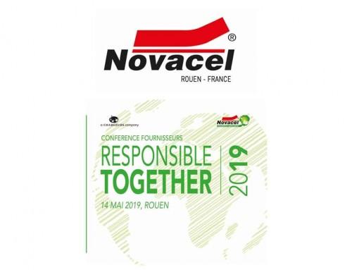 Novacel – Séminaire fournisseurs RSE- Mai 2019