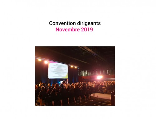 Convention dirigeants – Novembre 2019