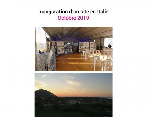 Inauguration – Italie